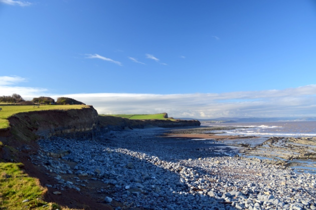英国海滩 Kilve beach, Somerset