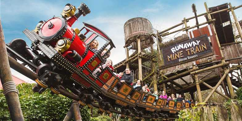 英国主题公园 Alton Towers, Staffordshire