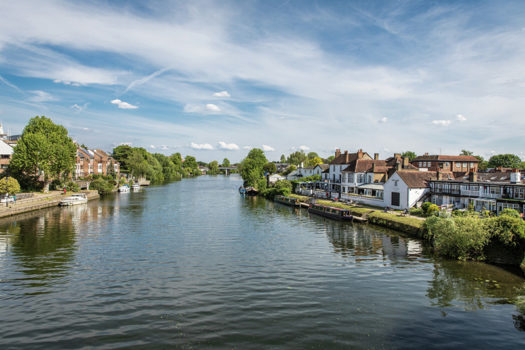 London Square Staines-upon-Thames development...