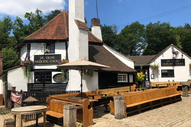 英国古老酒吧 英国酒吧 Ye Olde Fighting Cocks, St Albans, Hertfordshire