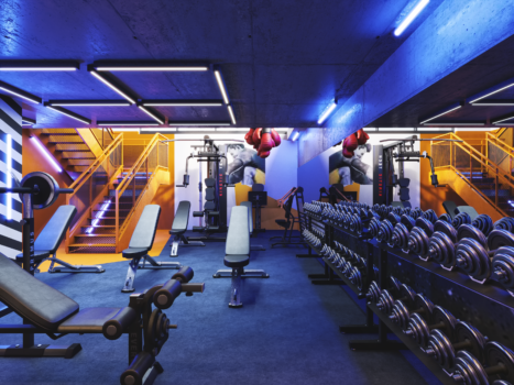 Ancoats Gardens Gym 2